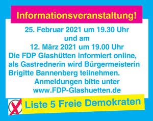 FDP Online-Veranstaltung