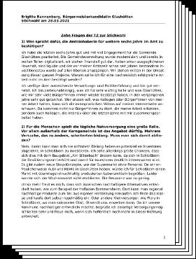 Brigitte Bannenberg: 10 Fragen der Taunuszeitung