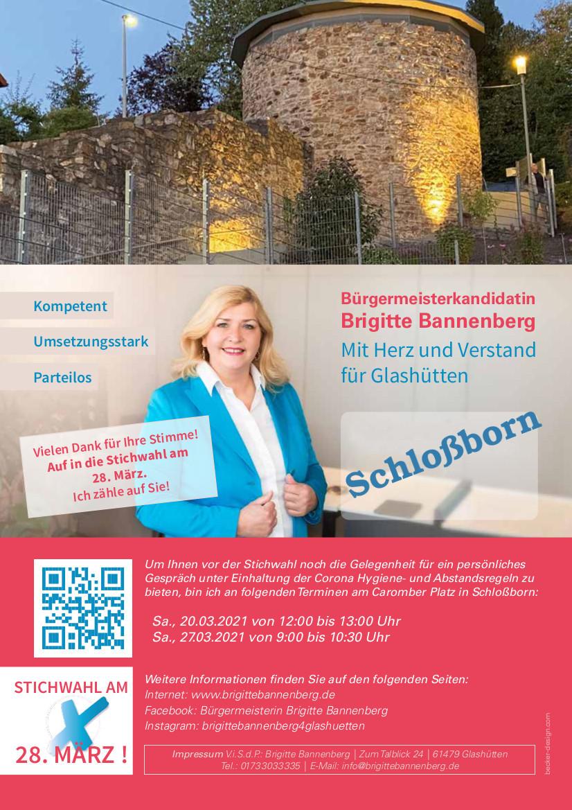 Brigitte Bannenberg Deckblatt Schloßborn